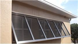 Bahama and Colonial Shutters by Sun Barrier Products