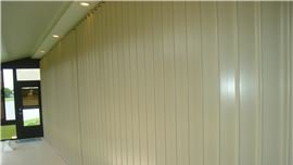 Accordion Shutters by Sun Barrier Products